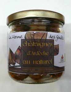 Châtaignes d'Ardèche de La Ferme des Genêts