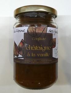 Confiture de châtaigne à la vanille de La Ferme des Genêts
