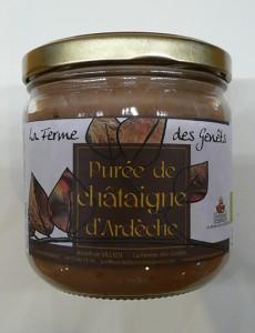 Purée de châtaigne d'Ardèche de La ferme des Genêts