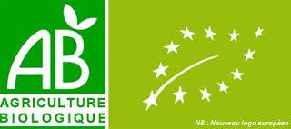 logo français et européens agriculture biologique
